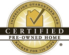 certified pre-owned homes